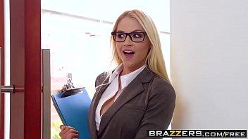 Big Tits at Work -  Her First Big Sale scene starring Sarah Vandella Keiran Lee and Toni Ribas