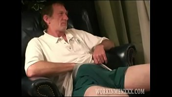 Homemade Video of Mature Amateur Ron Jacking Off