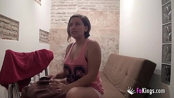 Hot Spanish nurse films herself to show us her sexual de-stressing method