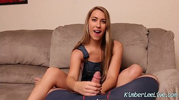 Teen Kimber Lee Jerks Off Her Step Dad For r.!