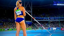 Sandi Morris XXX Rio 2016 lindo culo. Parte 01