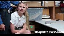 Catholic Schoolgirl Fucked For stealing  shopliftersex.com