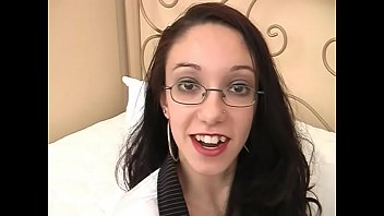 Nerd with glasses is fucked in a hotel by strangers