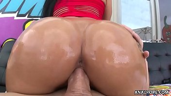 Busty Katrina Jade and her bouncing bubble butt