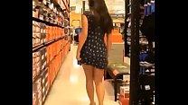 Chica de supermercado sin calson http://adf.ly/1noJYE