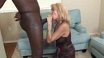 Sexy 58 Year Old Erica Lauren Sucking a BBC