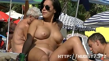 This nudist babes naked at the beach compilation is really arousing to watch