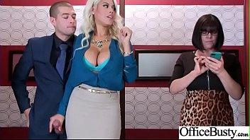Office Sex With Sluty Big Juggs Teen Girl (Bridgette B) vid-06