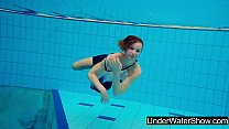 Young and hot teen Avenna in the pool
