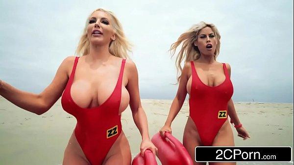 Baywatch XXX Parody - Bridgette B, Nicolette Shea