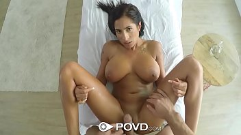 POVD Oiled up massage fuck with huge tits Stacy Jay