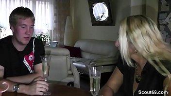 German Mom Teach Step-Son to Fuck at 18yr old Birthday