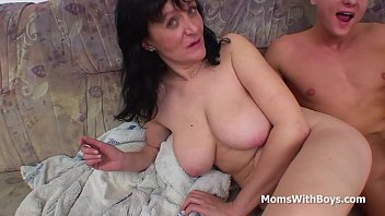 Busty Mother Fucking Son's Cock - Full Movie