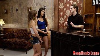 Teenage captive dominated in kinky hostel