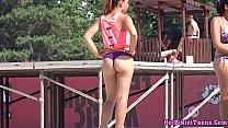 Big round ass bikini thongs latinas spy hd voyeur