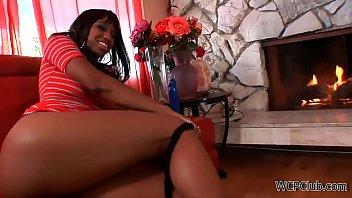 Young Anal Ebony Housewife
