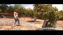 Fat Slut Fucking In An Avocado Farm - Full Movie
