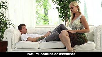 FamilyHookups- Hot Stepmom Sucked My Cock In Exchange For Chores