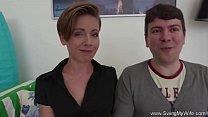Swinger Housewife Loves Fucking Strangers 15 min