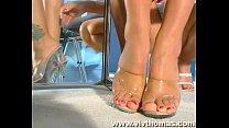 Shoe shop seduction!