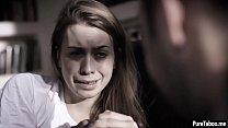 Weird psychiatrist fucks a patient teens tighty pussy