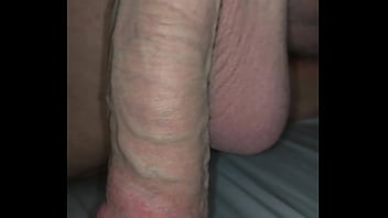 My dick getting pumped in bed