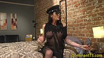 Transgender dom anal fucks doctor doggystyle