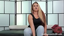 Chunky amaateur gets PISSED!!! after her first shoot costs her her job 8 min