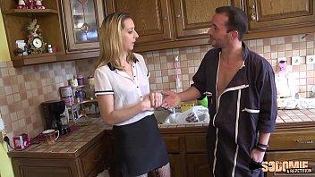 Louise, femme de ménage obscène déglinguée par son patron