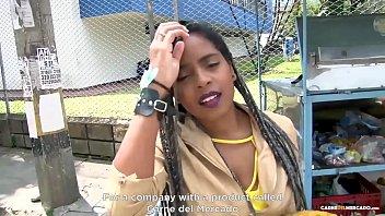 MAMACITAZ - #Ana Ebano - Ebony Babe Picked Up For Hard Pussy Drilling