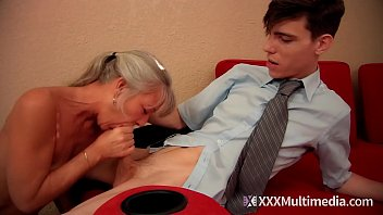 Stepmom fucks young son on prom night and takes his virginity - Leilani Lei