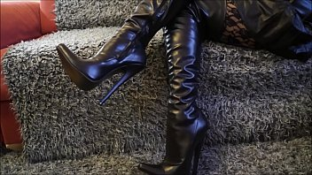 Best Mom In Extreme Thigh Boots POv. See pt2 at goddessheelsonline.co.uk