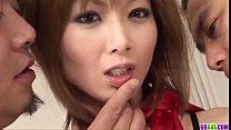 Gorgeous Asian group porn with skinny Rika Sakurai - More at 69avs.com