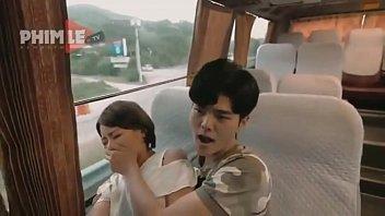 Korean-sex in bus