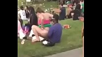 couple fuck at concert