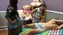 Tiozin leva sarrafo de novinha e gravida 10 min