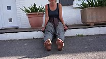 Cams4free.net - French College Student Dirty Bare Feet