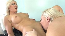 Two blonde bean flickers Bella Rose, Skylar Price are sucking twats and loving it
