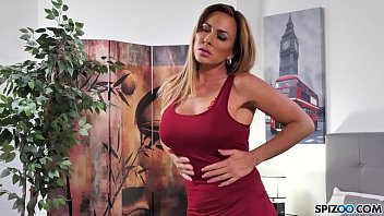 Spizoo - Aubrey Black fucking a big dick, big booty & big boobs