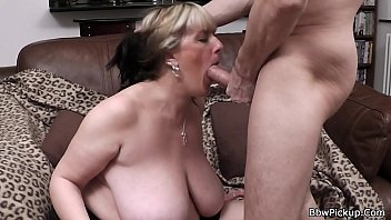 First date doggystyle sex with big tits woman