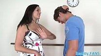 Seductive stepmom banged by stepson