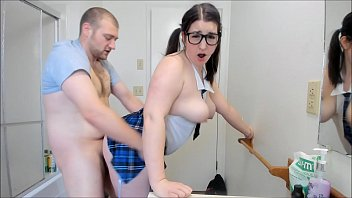 h. Teen Gets Her First Creampie By Horny Tutor