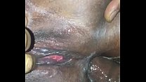 EBONY BBW TAKES BIG COCK IN THE ASS