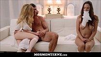 Hot Mormon Teen Wife And Husband Make Teen Girl Watch Them Fuck