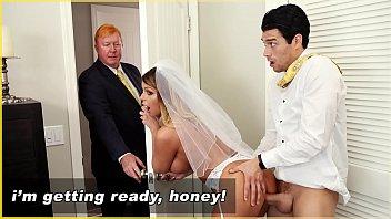 BANGBROS - MILF Bride Brooklyn Chase Gets Fucked By Step Son!