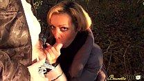 Baise en extérieur pour Karina, une milf beurette très très chaude