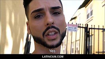 Amateur Latino Twink Fucked POV