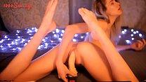 Lovely Teen Girl Masturbates with her Dildo - www.1000sex.xyz