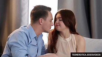 Redheaded Vixen Renata Fox Uses Her Pussy to Please a Guy