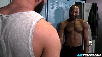 GayForced.com - Big Black Gay Dick Anal Destroy White Ass After Training